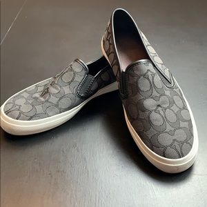 Coach Chrissy Canvas Slip-on shoes
